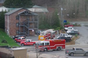 Boone Fire responds structure fire on Faculty Street