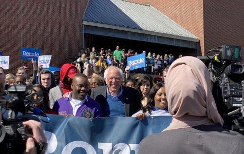 Bernie Sanders visits the Tarheel State