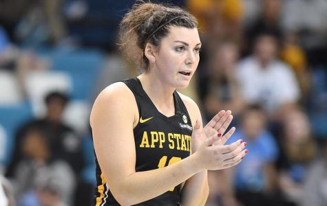 App State women's basketball picks up 68-49 win over ULM on senior day