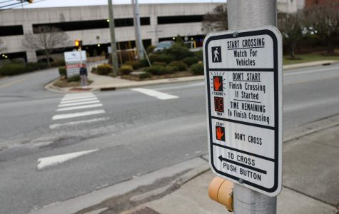 Though there are a number of crosswalks around Boone at students' and community members' disposal, some still feel Boone isn't the most pedestrian-friendly. Dabney Jones, along with help from nonprofit Harmony Lanes, propose that a pedestrian bridge be built above the intersection of Blowing Rock Road and NC-105.