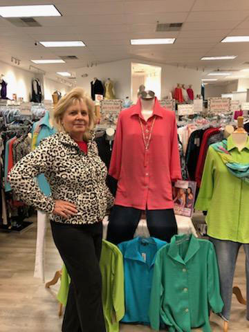 Lou Ella South, owner of specialty store South's Clothiers in Boone Mall, has joined other local retailers in applying for federal loans in order to help her business survive the pandemic.