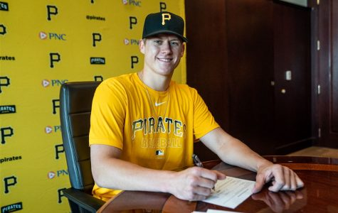 Former App State pitcher Jack Hartman signed with the Pittsburgh Pirates on Monday, June 29. He was drafted 108th overall in the fourth round of this year's MLB Draft.
