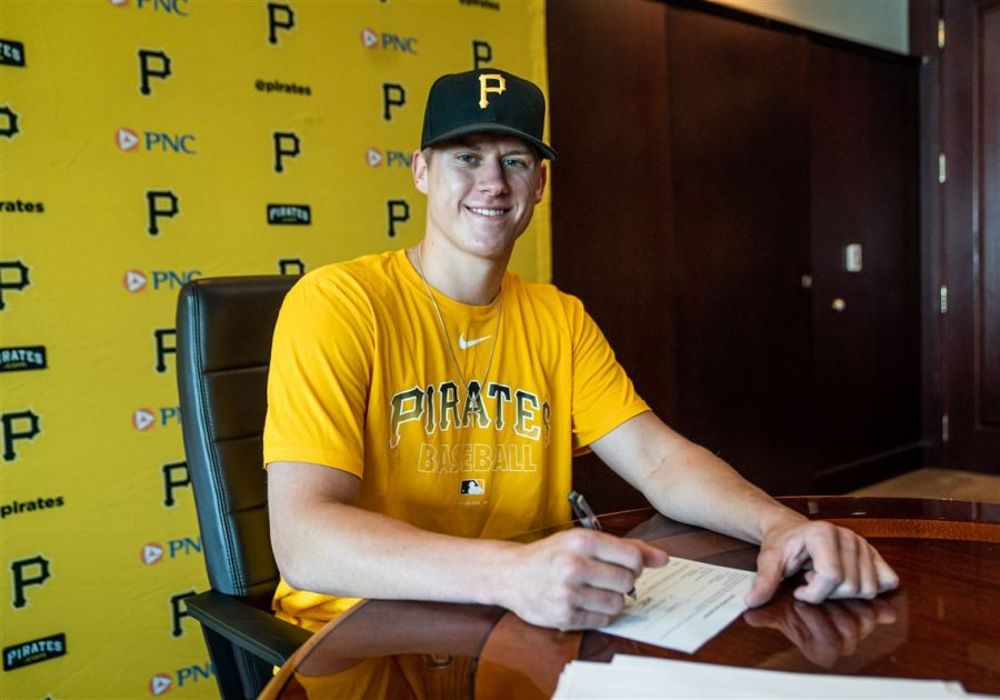 Former+App+State+pitcher+Jack+Hartman+signed+with+the+Pittsburgh+Pirates+on+Monday%2C+June+29.+He+was+drafted+108th+overall+in+the+fourth+round+of+this+year%27s+MLB+Draft.