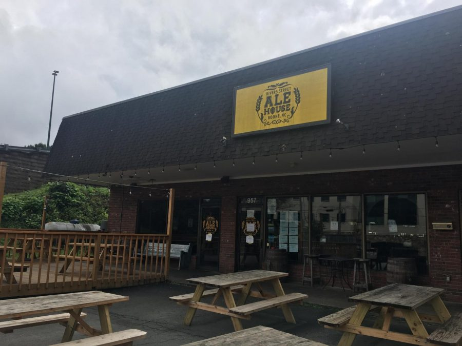 Located next to the Student Recreation Center on Rivers Street, Rivers Street Ale House is temporarily closed after a local spike in COVID-19 cases.