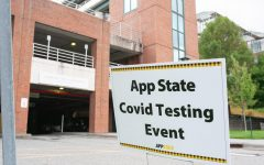 Testing was held for students in River Street parking deck on August 29, 2020 from 11am-5pm.