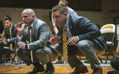 Former App State wrestling co-head assistant coach Ryan LeBlanc (right) has been named the head coach at The Citadel.