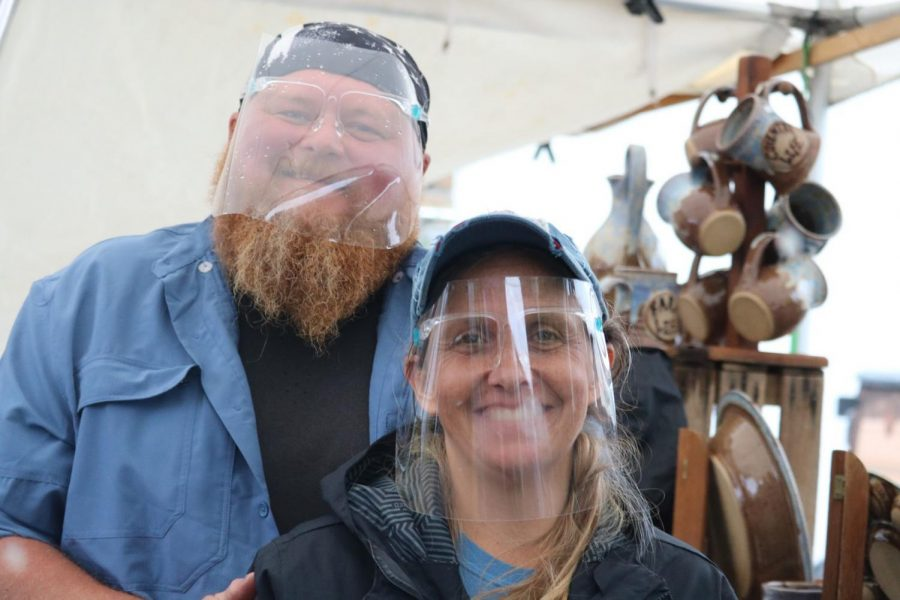 Cale Williams and his wife, have been coming to Art in the Park for 17 years.