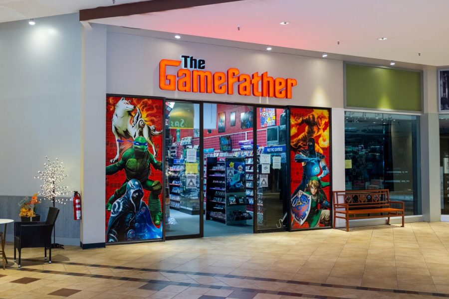 The+Gamefather+located+in+the+Boone+Mall.+The+Gamefather+is+working+to+satisfy+high+demand+after++Gamestop%E2%80%99s+recent+closure+in+Boone.%C2%A0