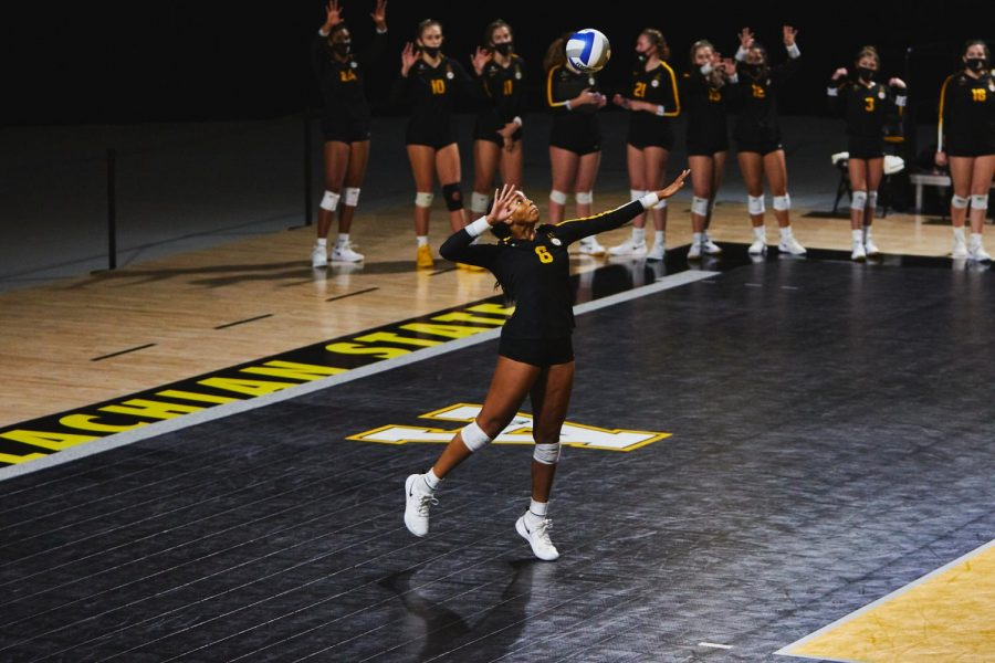 App State volleyball has dealt with a lot so far in 2020, and the team is grateful for what they do have.