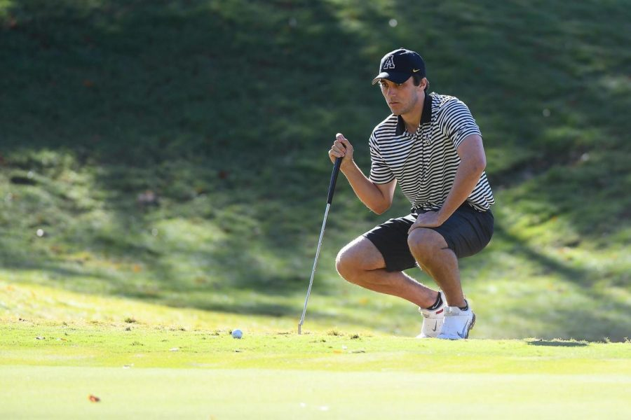 App State golf fifth-year senior Dylan Lukes was granted an extra year of eligibility after last spring's season was cut short because of the pandemic.
