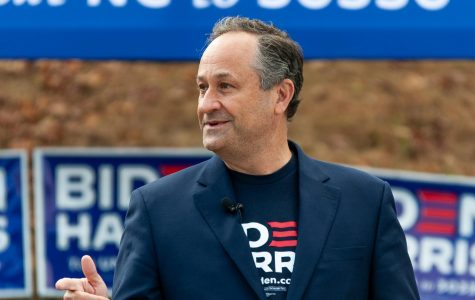 Kamala Harris' husband campaigns in Boone, encourages early voting