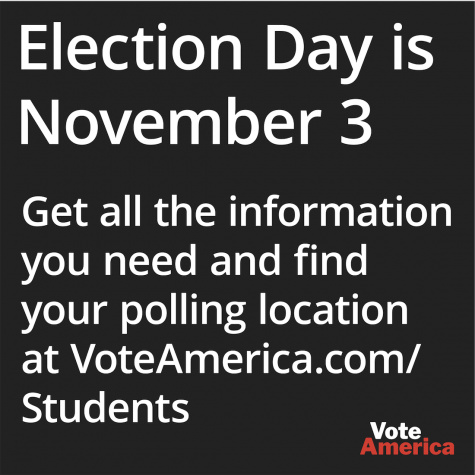 PAID CONTENT: Election Day is November 3 and we need your voice!
