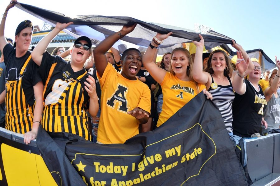 Fans will be allowed inside Kidd Brewer Stadium for the first time in 2020 on Thursday as the Mountaineers take on Arkansas State on ESPN. Capacity is limited to 2,100 fans.