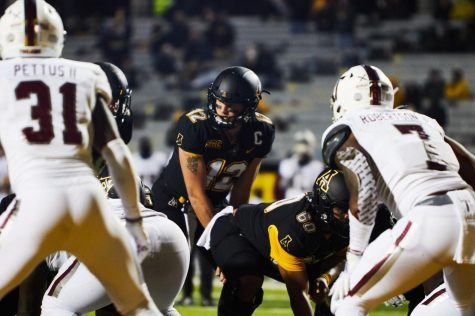 App State senior quarterback Zac Thomas bounced back from last week