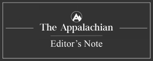 """Editor's Note: Capitalizing the """"B"""" in Brown"""