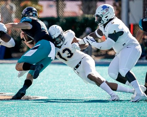 Late mistakes cost App State football, Mountaineers fall at Coastal Carolina 34-23
