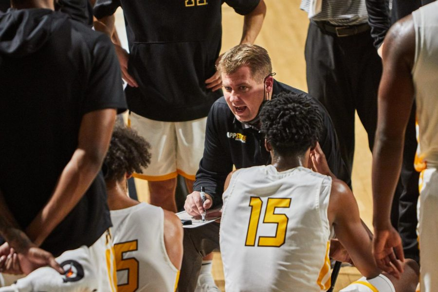 Second-year App State men's basketball head coach Dustin Kerns helped the Mountaineers snap an eight-year losing streak in only his first year on the job a season ago. Now in his second year at the helm, Kerns and the Mountaineers are looking for more.