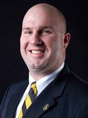 After six seasons as an App State offensive assistant and three as recruiting coordinator, Justin Watts was promoted to assistant head coach.
