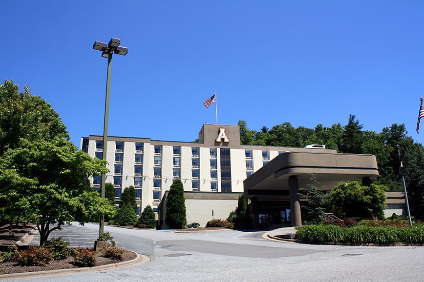 A restored hotel, App State's Panhellenic Hall will live a third life with transfer students this fall. The Transfer Hall can house 248 residents.