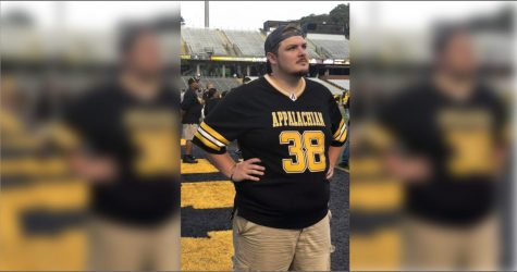 Michael Morgan, a 2019 App State grad, was diagnosed with leukemia for the third time in December. Morgan