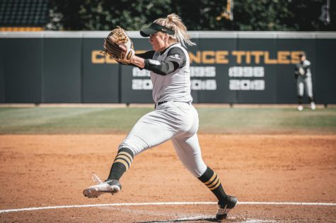 "After App State senior pitcher Kenzie Longanecker went 14-9 with a 2.40 ERA in 2019, she became the first Mountaineer in history to be named a first-team all-Sun Belt selection. ""I know I'm not the most vocal on the team, but I still do think of myself as a leader,"" she said."