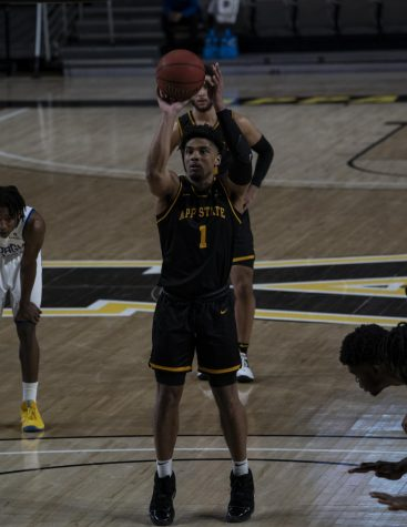 Forrest leads Mountaineers to Sun Belt semis in OT win over Texas State