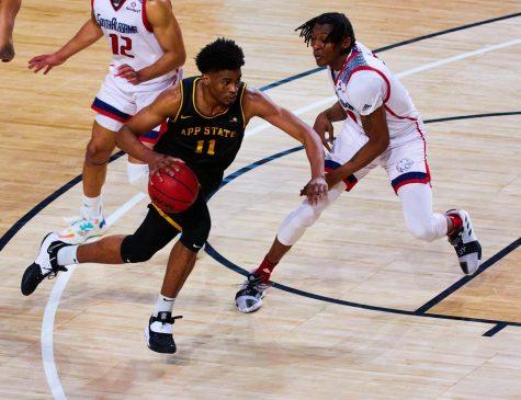 App State men's basketball knocks off Little Rock 67-60 in Sun Belt first round