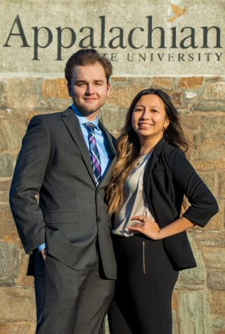Adam Zebzda and Jenn Banh are the first students to announce their candidacy in the 2021 election for student body president.