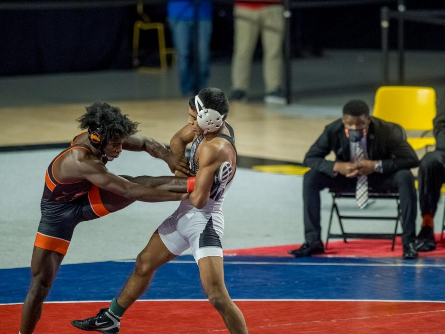 App State redshirt junior 141-pounder Anthony Brito claimed his first career individual conference championship on Sunday with a 7-3 decision over Campbell's Shannon Hanna.