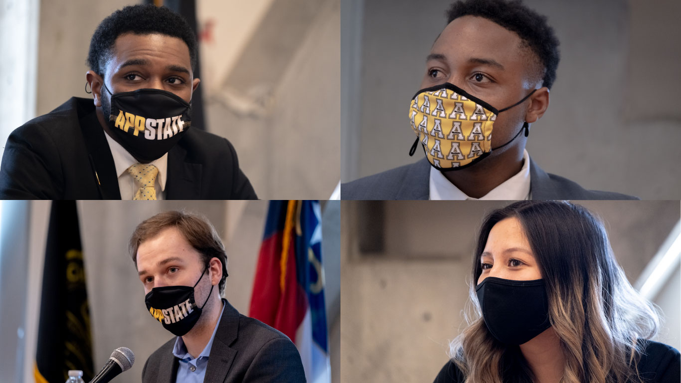 theappalachianonline.com: Student body president, vice president candidates mask up to face off in debate – The Appalachian