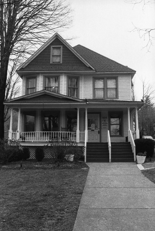 The Jones House sits just above King Street. The historical property was first built in 1908 by Dr. John Walter Jones.