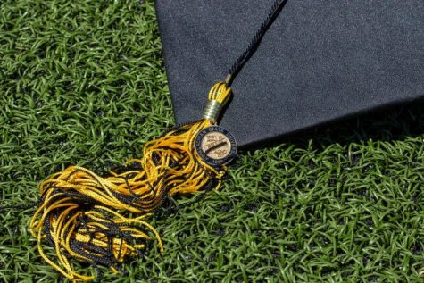 Students able to walk stage at spring graduation