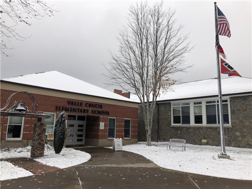 Valle Crucis Elementary School is one of the schools that will teach pre-kindergarten through second grade students in-person. Third grade through fifth grade students in Watauga County Schools will begin in-person learning March 22.