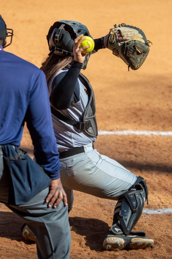 As a true freshman, Morton led the Sun Belt with 15 runners thrown out from behind the plate. This year, she's already gunned down seven runners, good for third in the conference, trailing the tie for first and second place by just one.