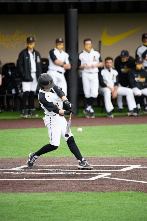App State junior Andrew Terrell is a key piece of the Mountaineers' baseball team, but he contributes in a rare way: both as a position player and a pitcher. Terrell currently has a 5.40 ERA with 13 strikeouts through 8.1 innings on the mound and has a .222 batting average at the plate.