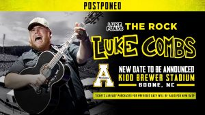 Fans face disappointment, Luke Combs concert postponed