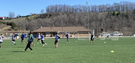 "Appalachian FC hosted its final open tryout at the Ted Mackorell Soccer Complex in Boone April 3. ""Overall it's been a good two tryouts, I think this one, we really hit the peak in terms of level compared to the first one,"" head coach Dale Parker said."