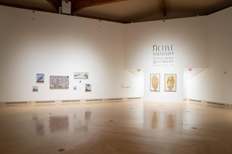 Fictive Strategies: Suzanne Sbarge & Holly Roberts is one of the galleries currently on display at the Turchin Center.