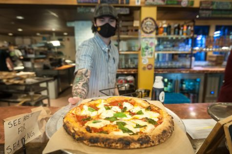 Lost Province Brewing Co., located near King Street, is best known for its wood-fired pizza and beers.