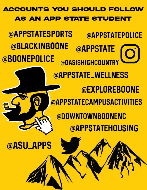 12 social media accounts to follow as a Mountaineer
