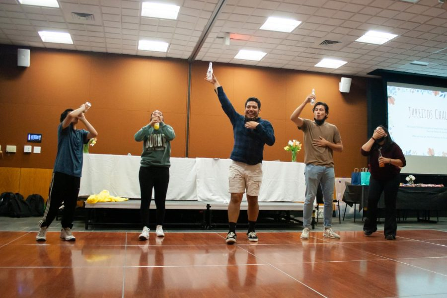 During the event, competitions like a Jarritos drinking game were held to celebrate Latino and Hispanic culture in a creative way.
